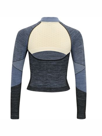 hmlSKY SEAMLESS CROPPED T-SHIRT L/S